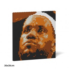 LeBron James Brick Painting 02S