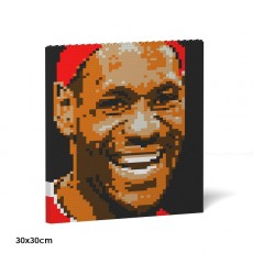 LeBron James Brick Painting 04S