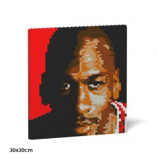 Michael Jordan Brick Painting 01S