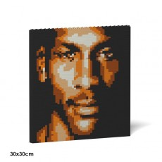Michael Jordan Brick Painting 02S