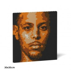 Stephen Curry Brick Painting 01S