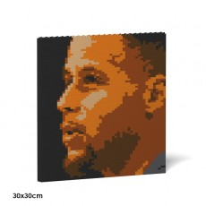 Stephen Curry Brick Painting 02S