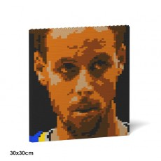 Stephen Curry Brick Painting 03S