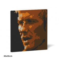David Beckham Brick Painting 01S