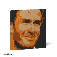 David Beckham Brick Painting 03S