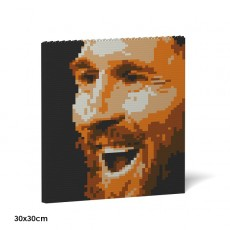 Lionel Messi Brick Painting 01S