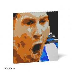 Lionel Messi Brick Painting 02S