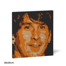 Lionel Messi Brick Painting 03S