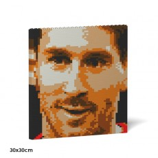 Lionel Messi Brick Painting 04S